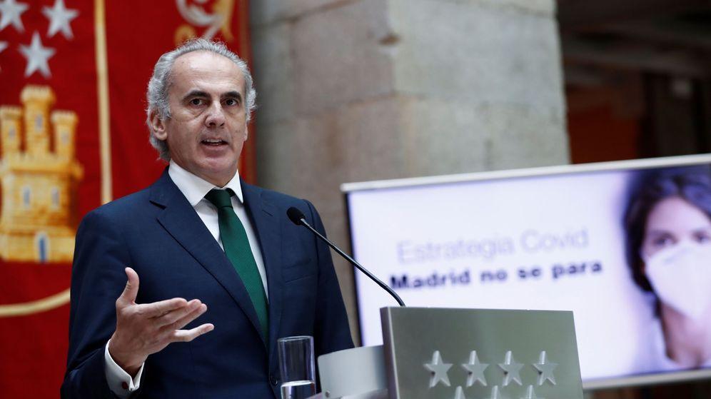 Foto: Enrique Ruiz Escudero, consejero de Sanidad de la Comunidad de Madrid. (EFE)