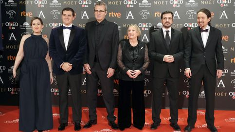 El PSOE se 'olvida' de posar en la foto política de los Goya