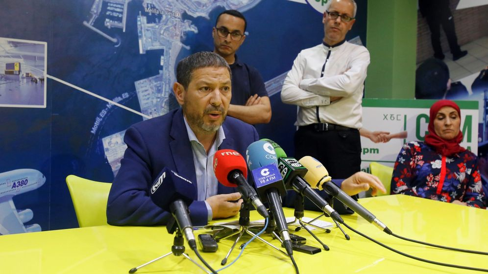 Foto: El presidente de Coalición por Melilla (CpM) y actual líder de la oposición, Mustafa Aberchán. (EFE)