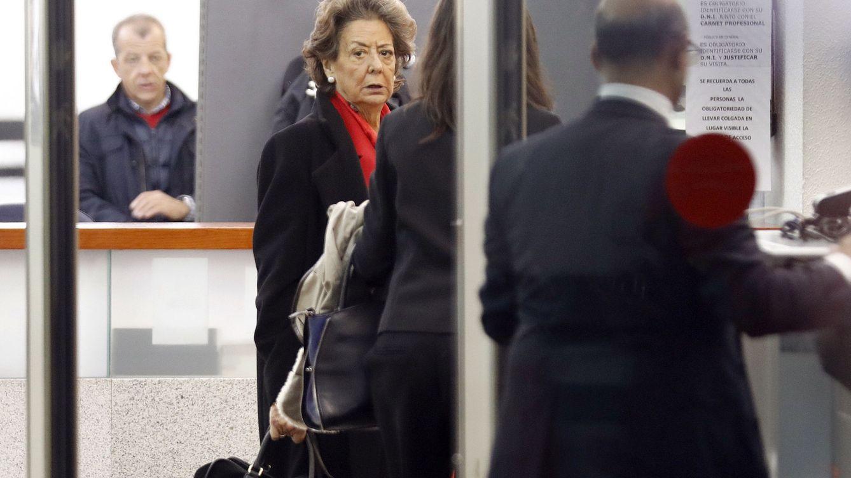 Foto: La senadora y exalcaldesa de Valencia por el PP, Rita Barberá. (Efe)