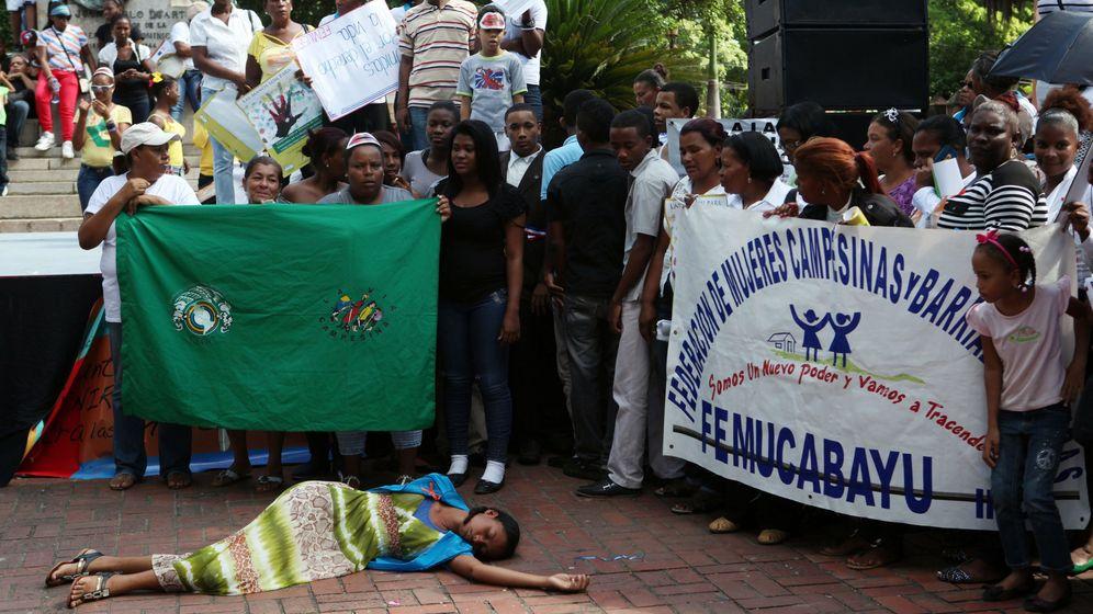 Foto: Día Internacional de la Eliminación de la Violencia contra la Mujer en 2013 en República Dominicana (EFE)