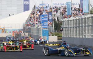 Comienzo emocionante en la Fórmula E con un accidente decisivo en la última vuelta