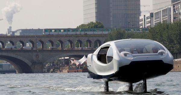 El transporte del mañana: taxis acuáticos y coches voladores