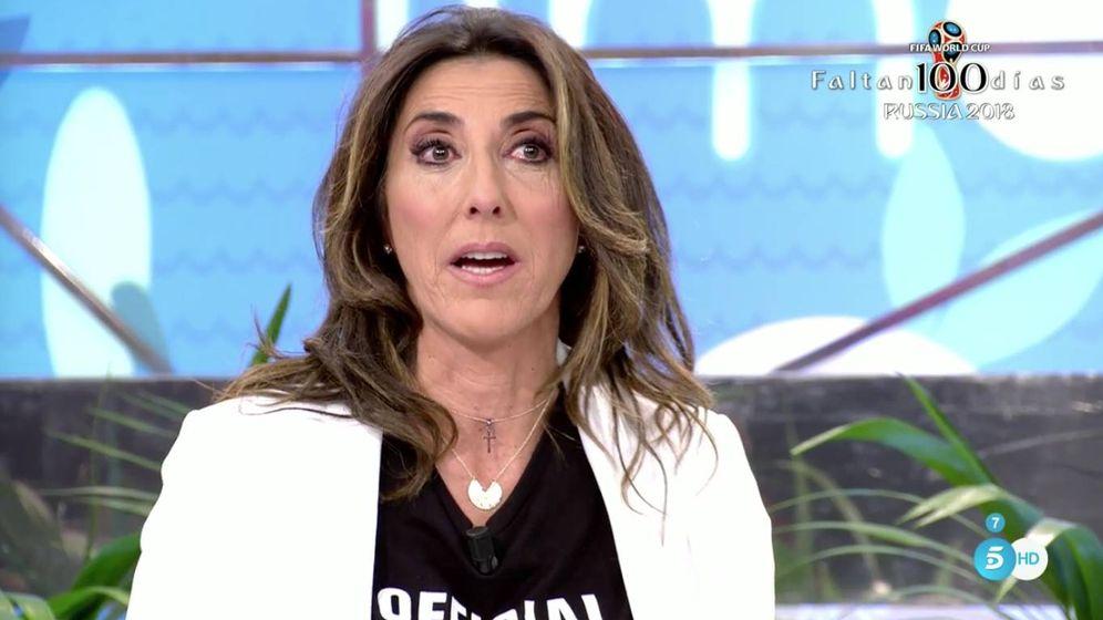 Foto: Paz Padilla en 'Sálvame'. (Telecinco)