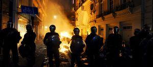 Foto: Las protestas contra los ajustes de Cameron se saldan con al menos 14 heridos