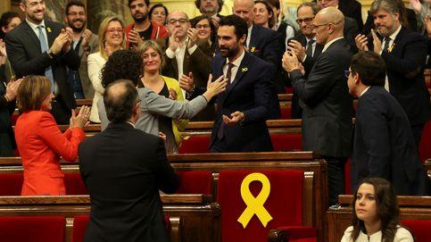 Roger Torrent, elegido presidente del Parlament en una sesión tranquila