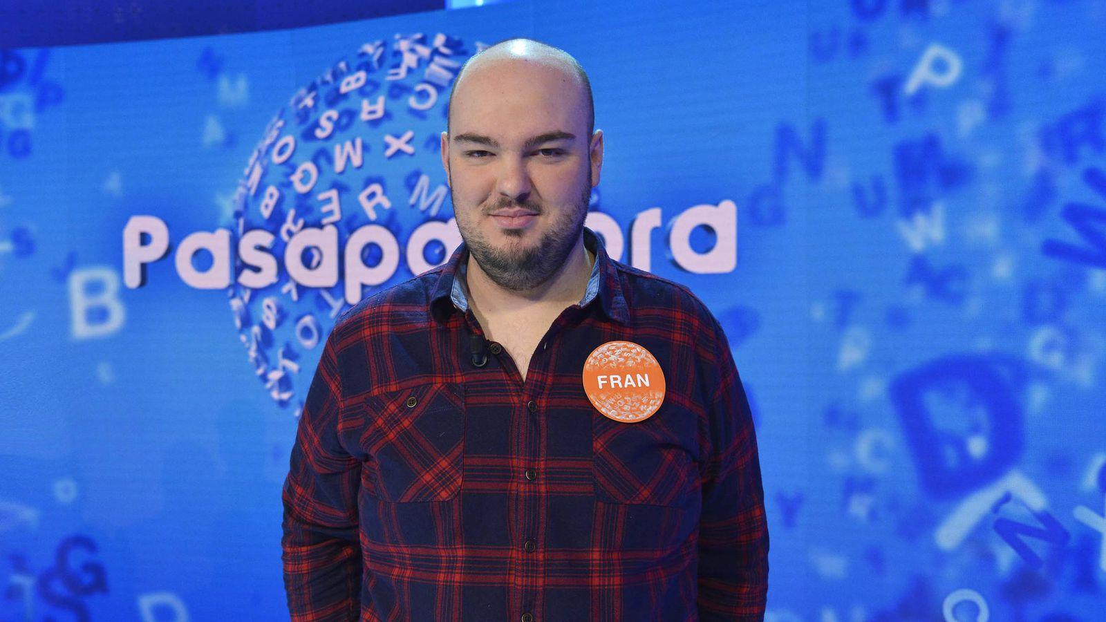 Foto: El concursante Fran González. (Mediaset)