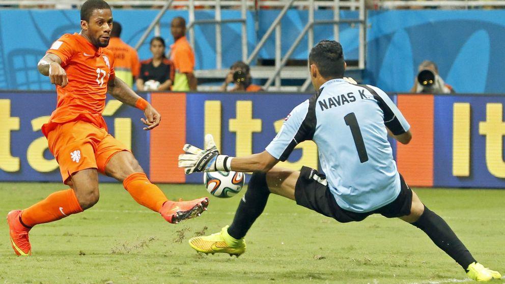Van Gaal eligió a Keylor Navas y Florentino pide 100 millones por Ramos