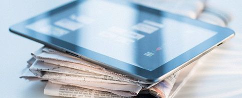 Los medios digitales engullen al papel