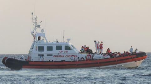 Lampedusa se declara en huelga mientras 350 migrantes esperan desembarcar