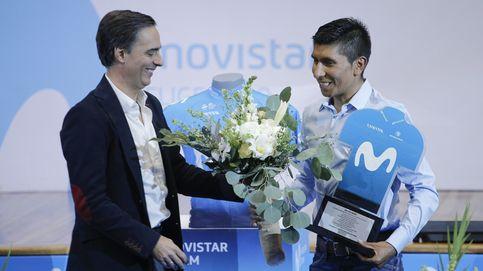 Las lágrimas de Nairo Quintana en su despedida como ciclista de Movistar