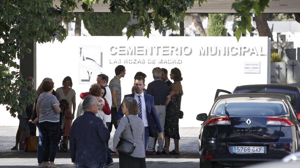 Centenares de personas despiden a Echeverría en Las Rozas
