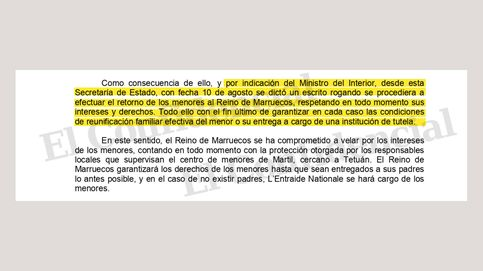 Interior envía a la Audiencia los escritos que señalan a Marlaska por la crisis de Ceuta