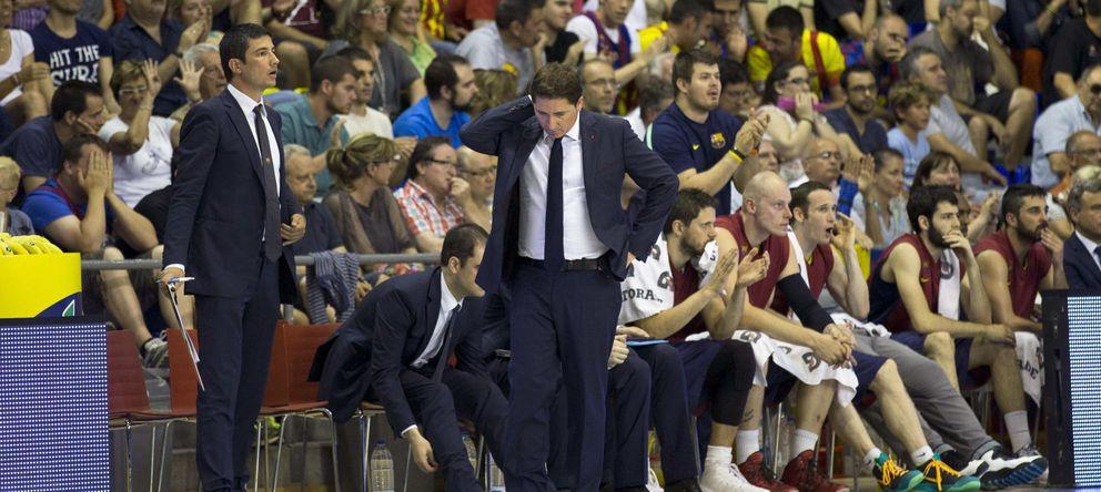 Xavi Pascual confía en la vieja guardia para evitar acabar a su etapa en el Barça