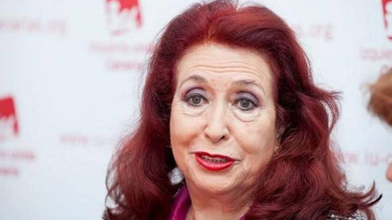 La líder del PFE, Lidia Falcón.