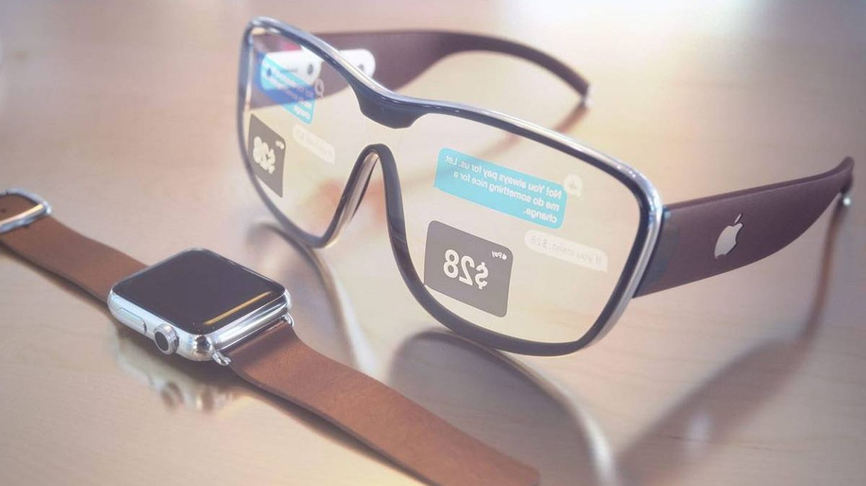 Uno de los posibles diseños de las Apple Glass.