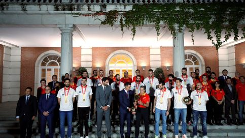 La celebración de la Selección: Pedro Sánchez recibe a los campeones en Moncloa