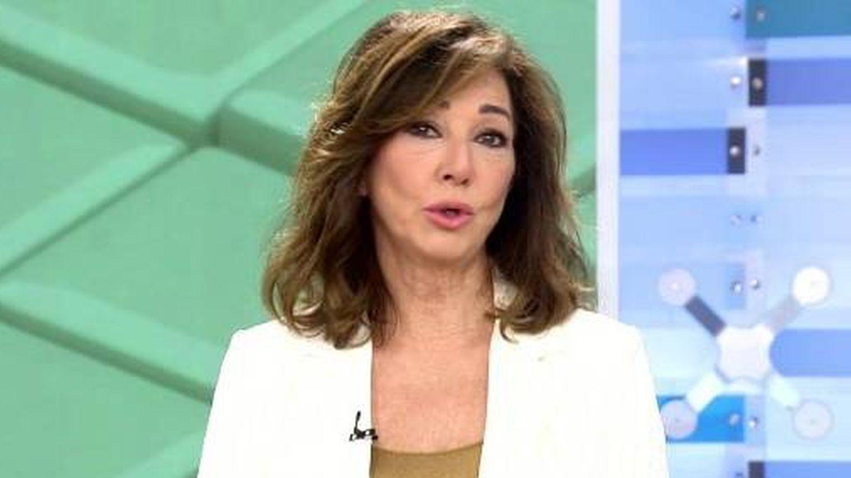 Ana Rosa Quintana, en su programa. (Twitter @elprogramadear)