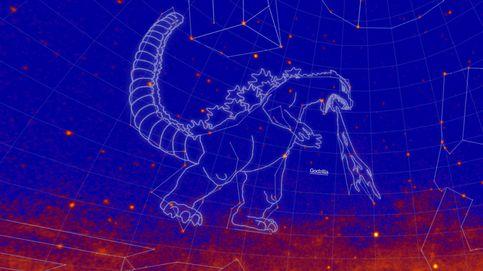 La NASA 'construye' constelaciones para Albert Einstein, Hulk y Godzilla