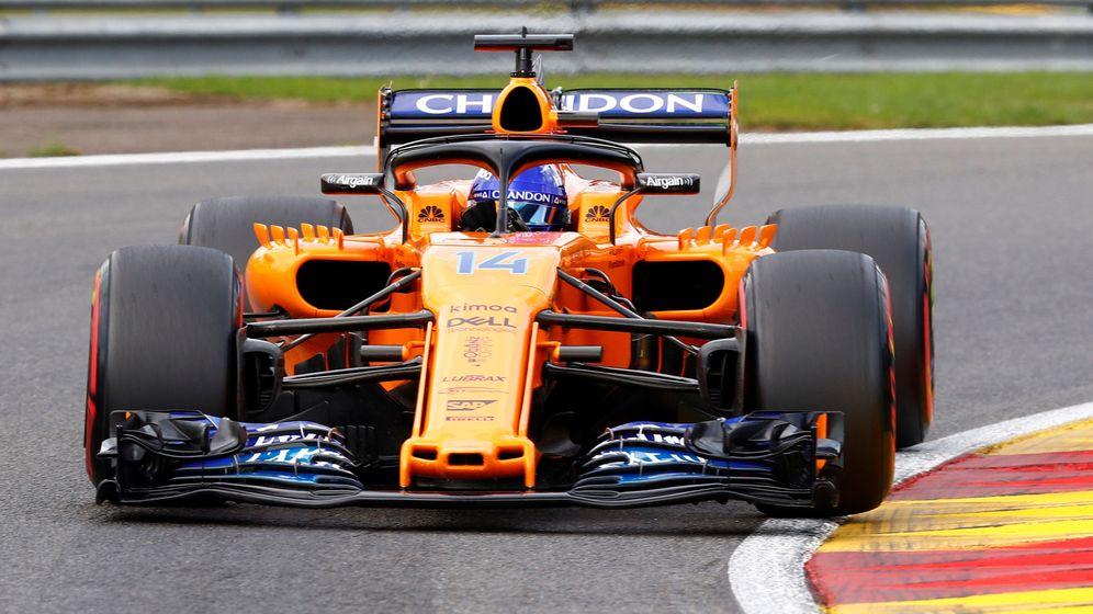 Foto: Ninguno de los dos McLaren superó la Q1 en Spa. (Reuters)