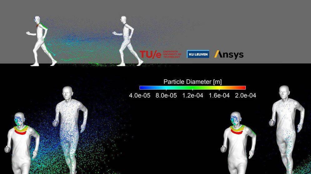 Foto: Imagen explicativa de los efectos corriendo.