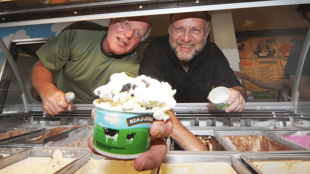 Ben, Jerry, Jobs, Schultz... la era de los emprendedores 'hippies'
