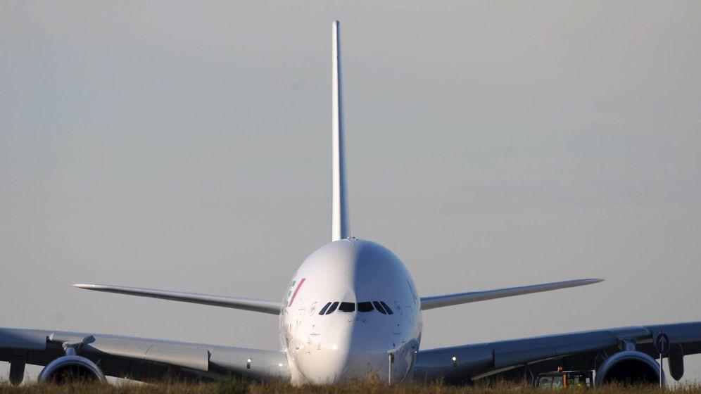 Foto: Primer A380 que salió de la línea de montaje de Airbus en 2004. (Airbus)
