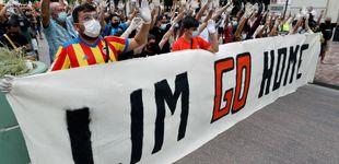 Post de Peter Lim despide a Javi Gracia acorralado por un frente político, social y económico