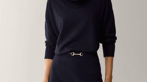Esta minifalda de Massimo Dutti afina la cintura y es apta para todas las edades