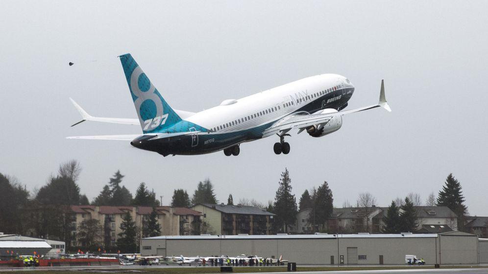 Foto: Un Boeing 737 MAX 8 (Reuters)