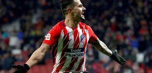 Post de Vitolo le coge rápido el gusto al Wanda y el Atlético cierra una ronda sin historia
