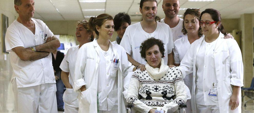 Foto: La auxiliar de enfermería Teresa Romero (Efe)