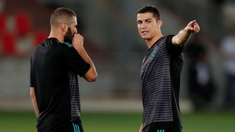 Zidane y Cristiano salen al rescate de Karim Benzema
