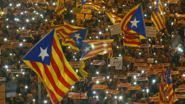 Foto: Manifestación independentista en Barcelona. (Reuters)