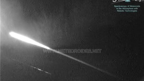 Detectan una bola de fuego sobrevolando España a 82.000 km/hora