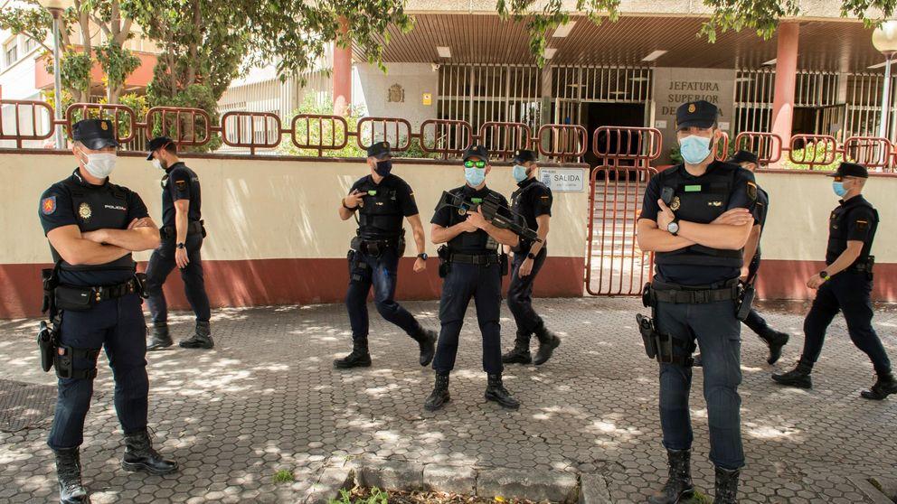 Seis detenidos y seis policías heridos en una fiesta de 20 personas sin mascarilla en Sevilla