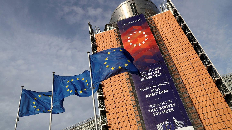 Sede de la Comisión Europea, en Bruselas. (EFE)