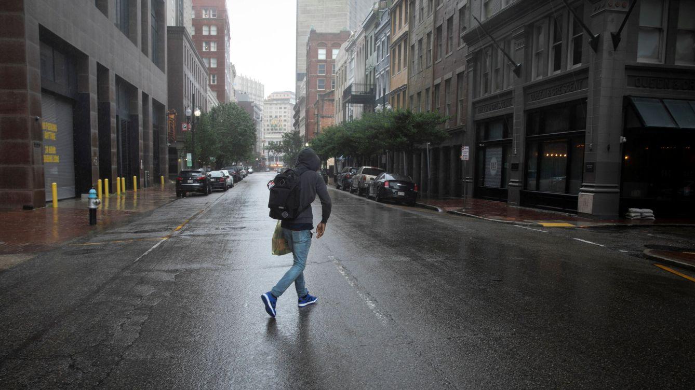 Nueva Orleans queda completamente a oscuras tras el paso del huracán 'Ida'
