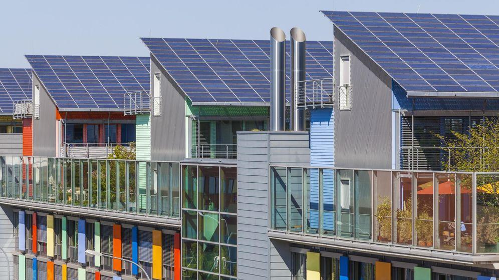 Foto: Paneles solares en los tejados, en Alemania