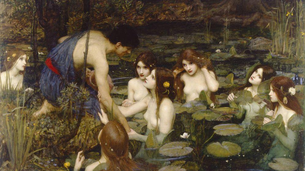 Foto: 'Hylas y la ninfas', de John William Waterhouse