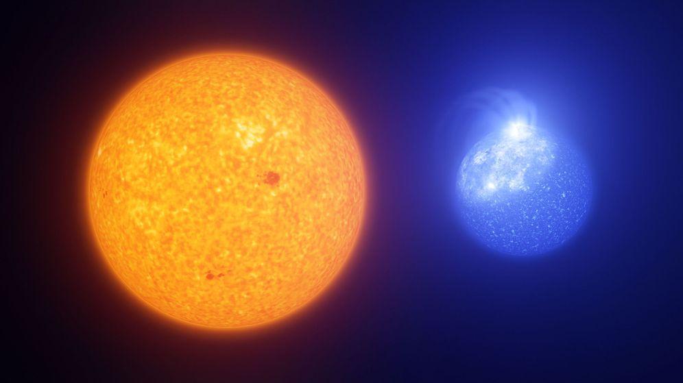 Foto: ¿Dónde está la estrella que brillaba dos millones de veces más que nuestro Sol? (Reuters)