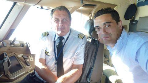 En caso de desmayo, el piloto automático continúa con el vuelo