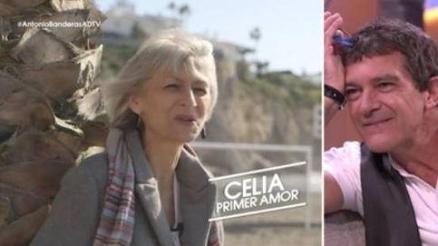 Celia Trujillo, primera novia de Banderas, le sorprende con un mensaje (ahora) póstumo