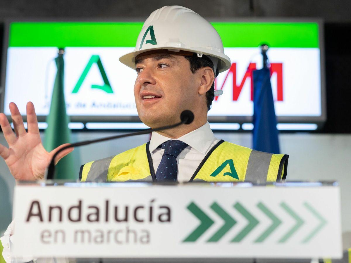 Foto: El presidente de la Junta de Andalucía, Juanma Moreno. (EFE)