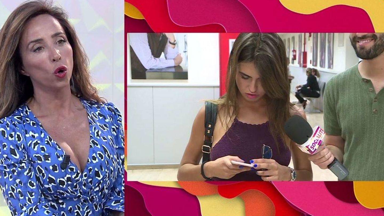 María Patiño y Sofía Suescun, en 'Socialité'. (Mediaset).