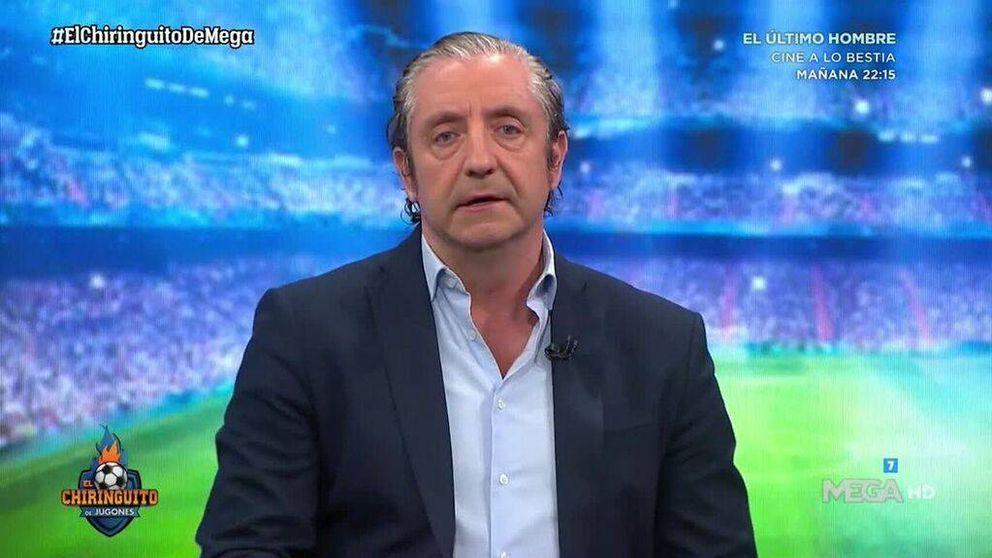 Josep Pedrerol, víctima de su propio Photoshop: Me habéis pillado