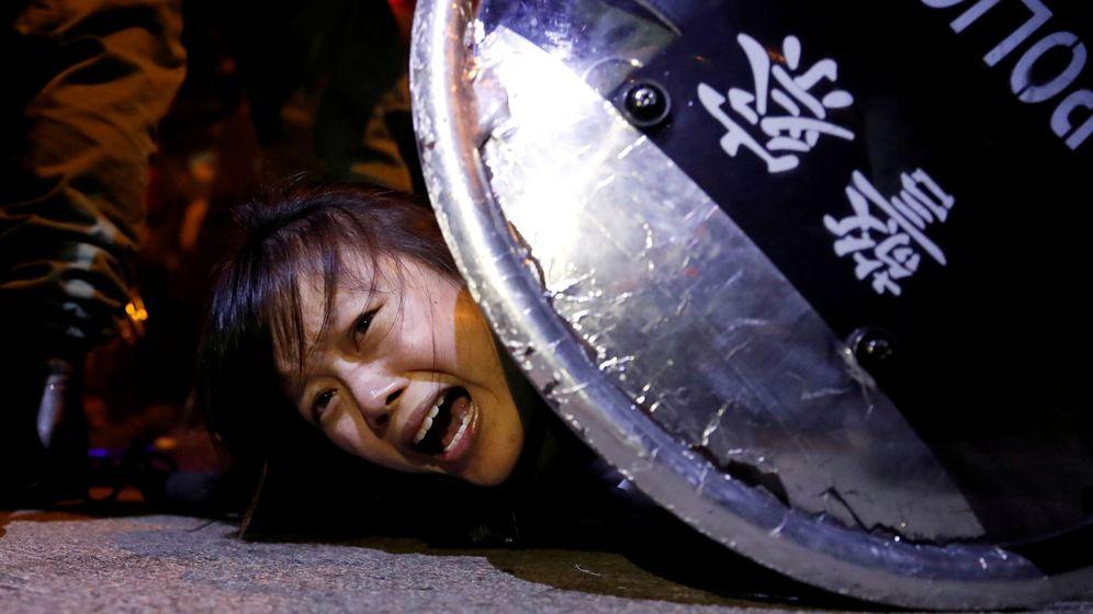 Foto: Foto de archivo de las protestas contra la Ley de Extradición en Hong Kong. (Reuters)