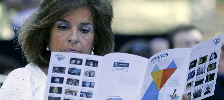 Foto: La alcaldesa de Madrid, Ana Botella (EFE)