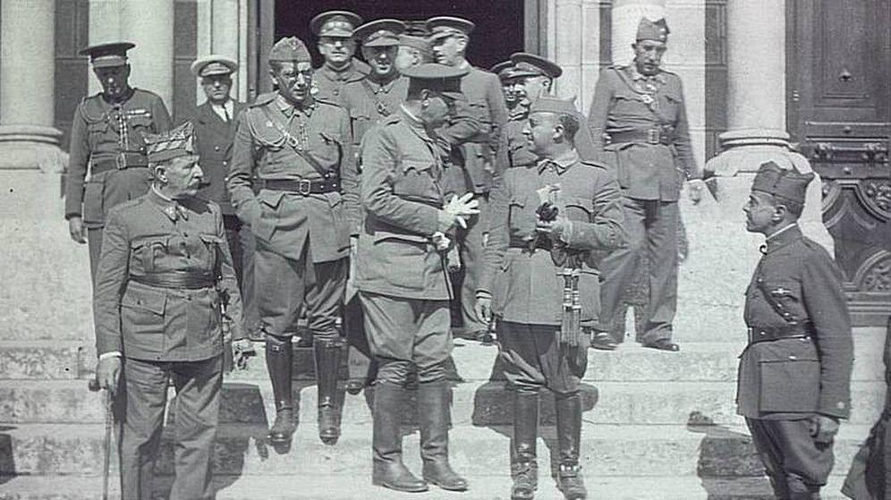 Foto: Los sublevados, dirigidos por Franco, habrían utilizado material de IBM para ganar la guerra. (Fuente: Wikimedia Commons)