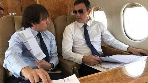 Sánchez promete ahora desvelar los gastos del Falcon... si gana